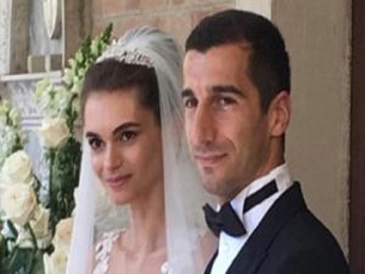Mxitaryan erməni biznesmenin qızı ilə evlənib - VİDEO