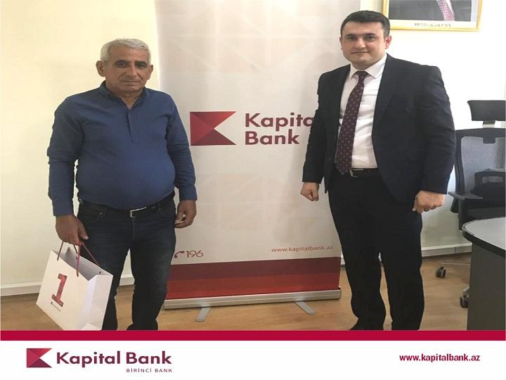 Kapital Bank müştərinin kreditini tam ödədi
