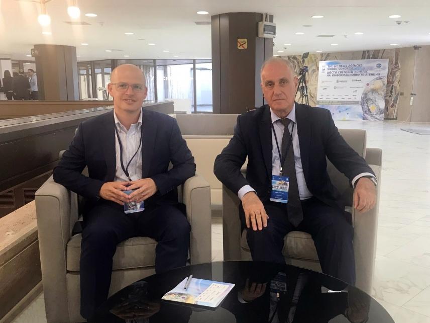Израильское новостное агентство TPS заинтересовано в сотрудничестве с АЗЕРТАДЖ