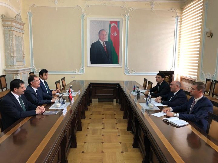 Zakir Qaralov Türkiyənin Baş Ombudsmanı ilə görüşüb