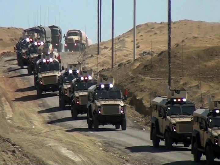 Azərbaycan Ordusunun hərbi birliyinin təlimi keçirilib – FOTO – VİDEO