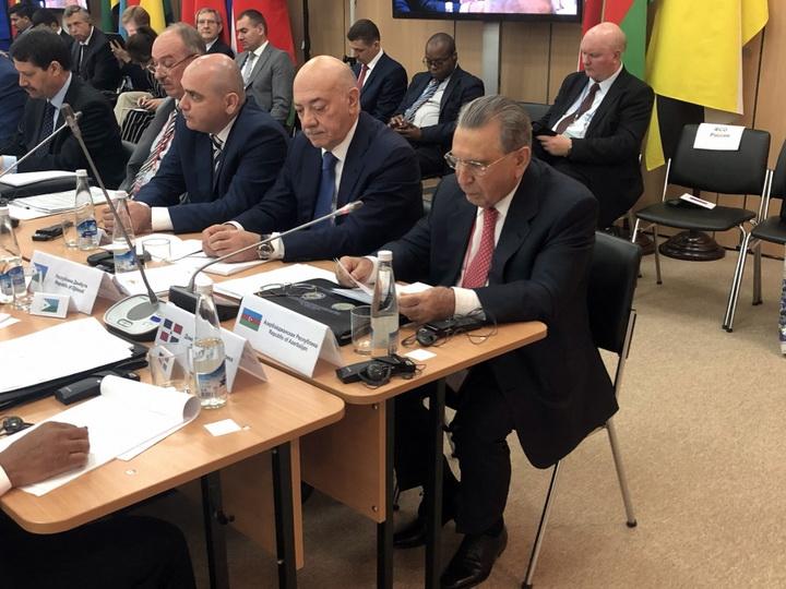 Рамиз Мехтиев принял участие в международной встрече по вопросам безопасности