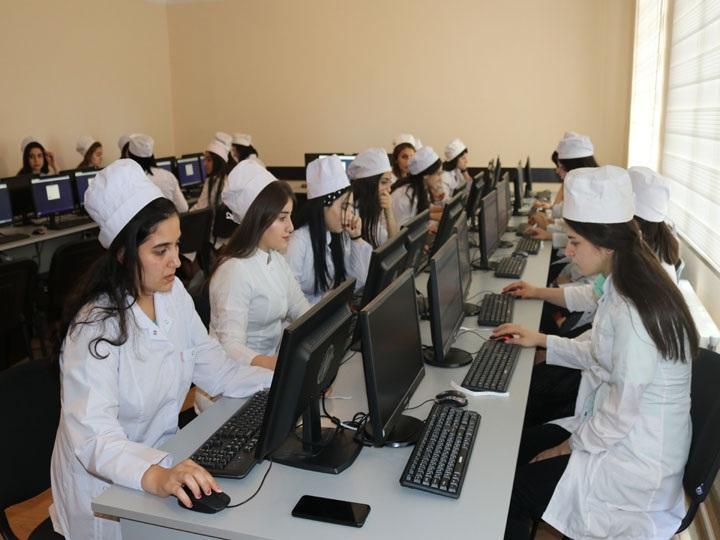 Сумгайытский медицинский колледж автоматизировал экзаменационный процесс - ФОТО
