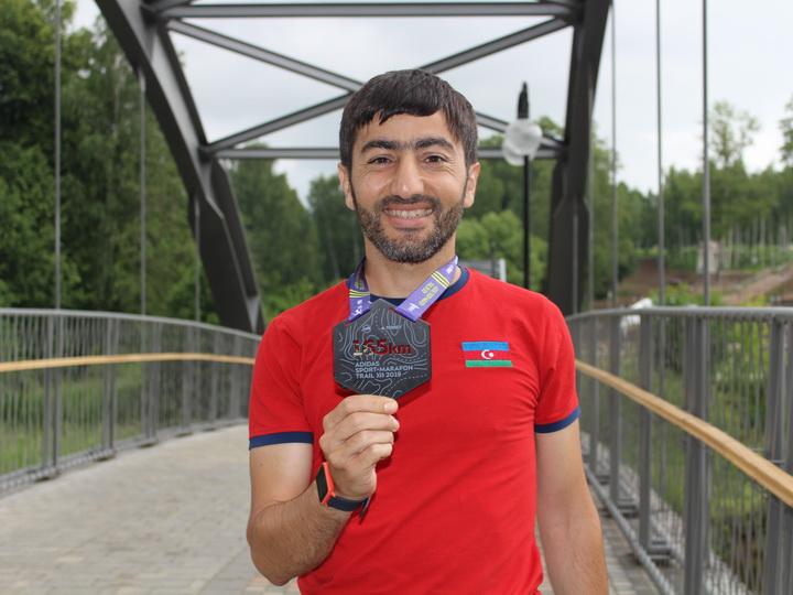 Азербайджанец пробежал суточную гонку и установил национальный рекорд – ФОТО