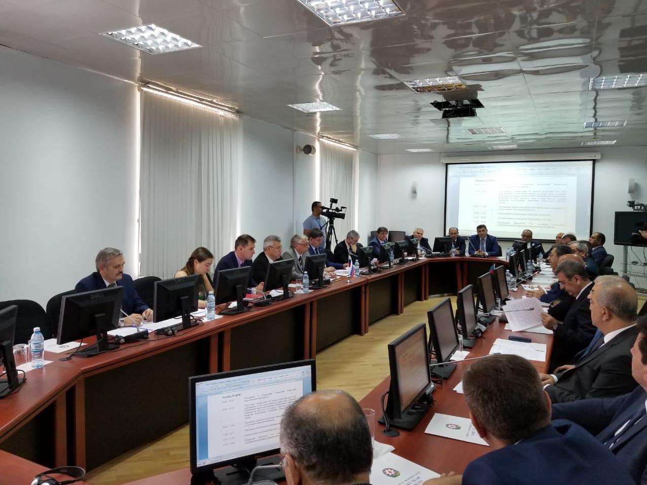 Заседание Совместной комиссии по демаркации российско-азербайджанской границы состоялось в Баку