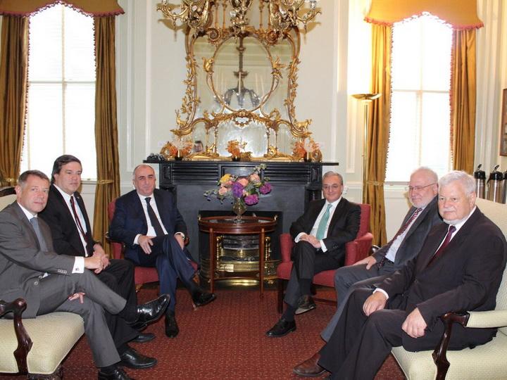 В Вашингтоне проходит встреча глав МИД Азербайджана и Армении - ФОТО
