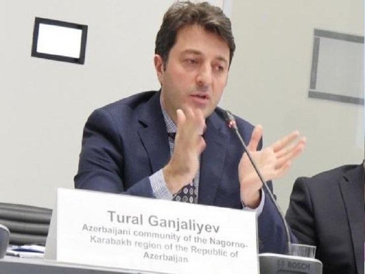 Tural Gəncəliyev: Münaqişədən daha çox ziyan görən erməni icmasıdır