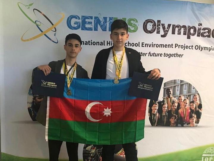 Азербайджанские школьники стали «Гениями» Нью-Йоркской олимпиады - ФОТО
