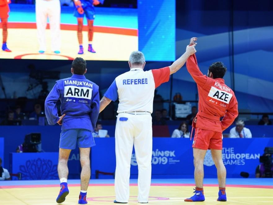 «Минск-2019»: Азербайджанские самбисты завоевали две бронзовые медали