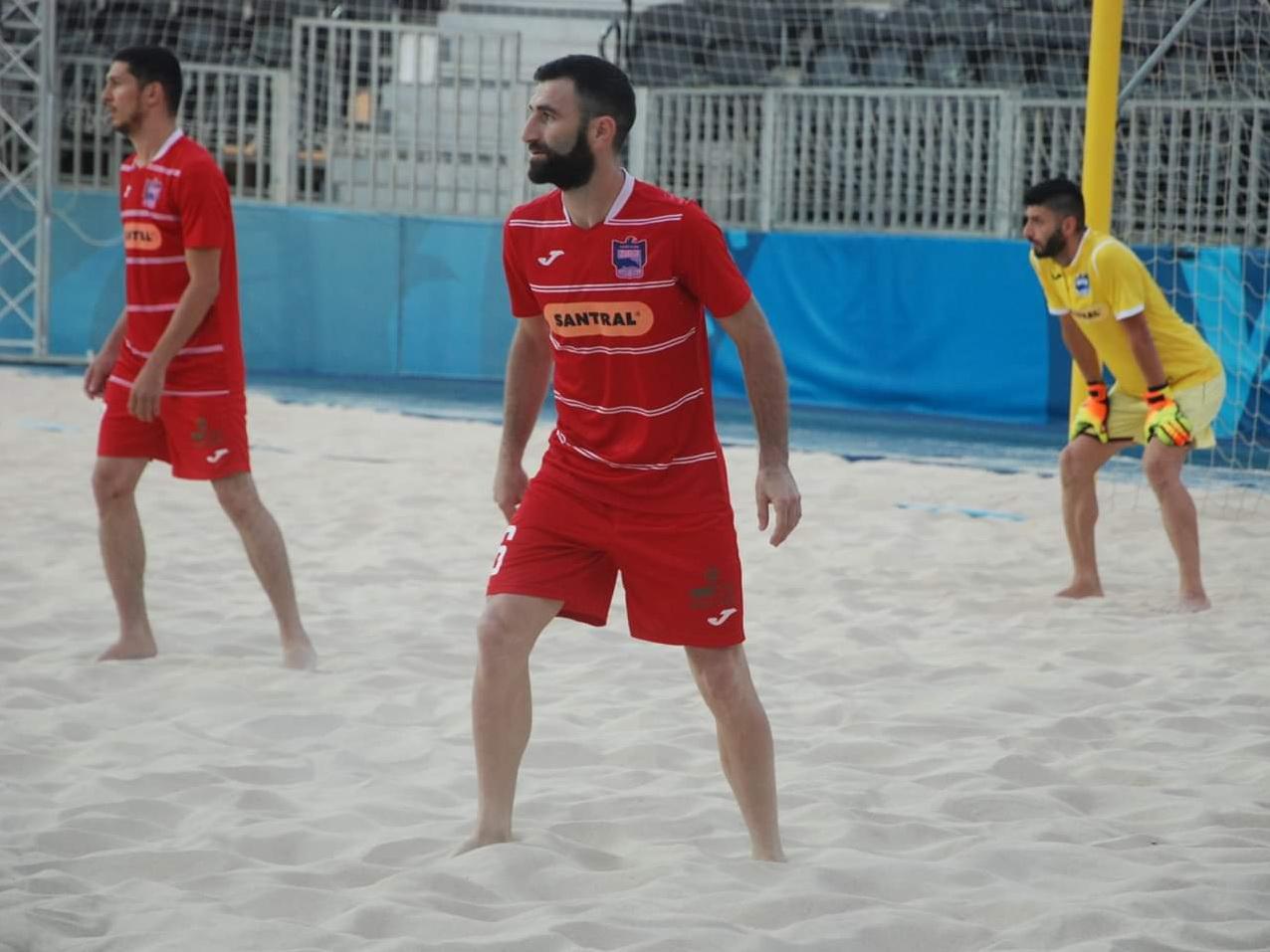 Чемпионат Азербайджана по пляжному футболу - полуфинал