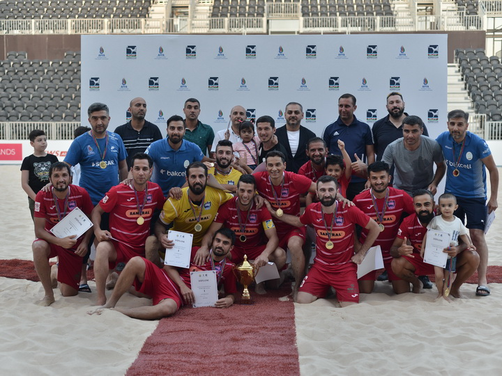Завершился чемпионат Азербайджана по пляжному футболу – ФОТО