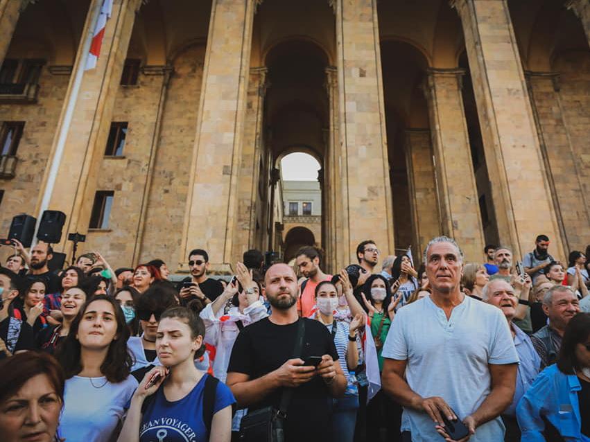 Грузинская оппозиция сегодня намерена провести самую масштабную акцию