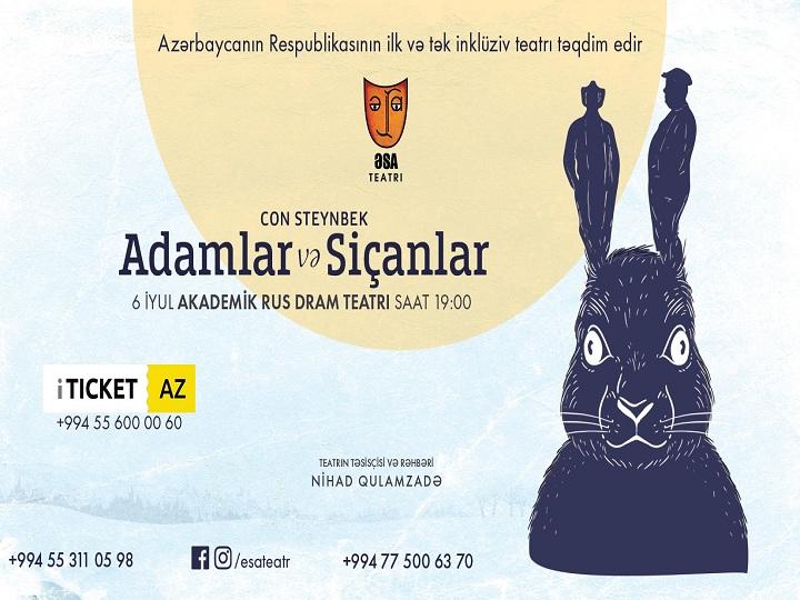 İnklüziv ƏSA Teatrından tamaşaçılara şad xəbər – FOTO