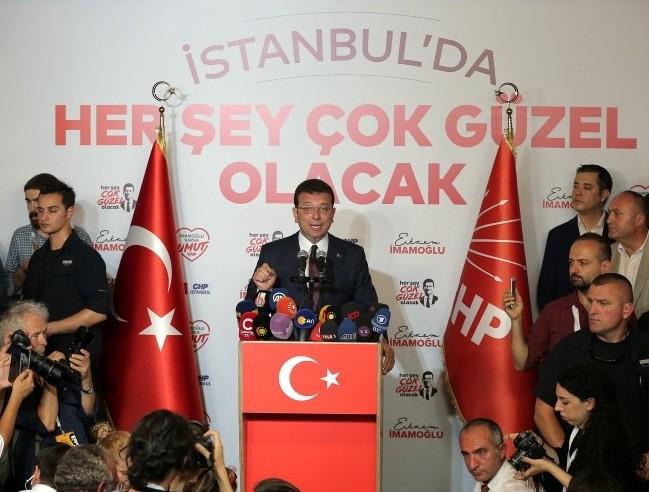 İmamoğlu: İstanbulda qanun və ədalət hökmranlıq edəcək