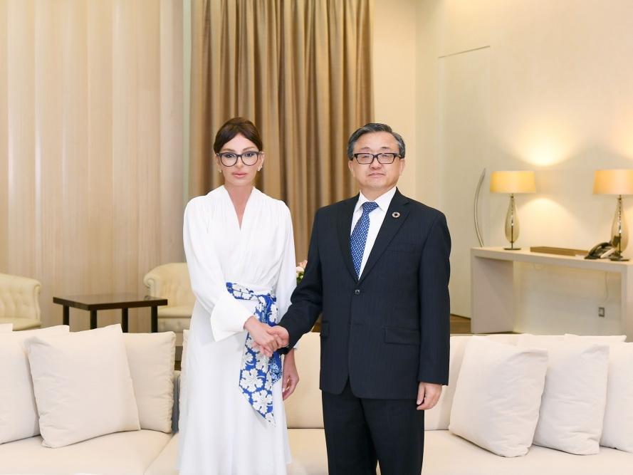 Первый вице-президент Мехрибан Алиева встретилась с заместителем генсека ООН - ФОТО