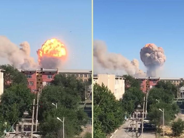 Взрыв в воинской части Казахстана – есть пострадавшие - ФОТО - ВИДЕО - ОБНОВЛЕНО