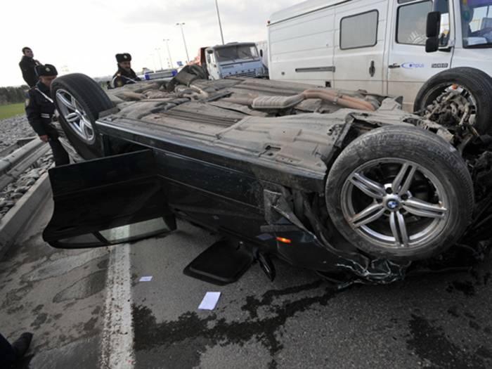 Антирекорд: За выходные в Азербайджане в ДТП погибли 11 человек