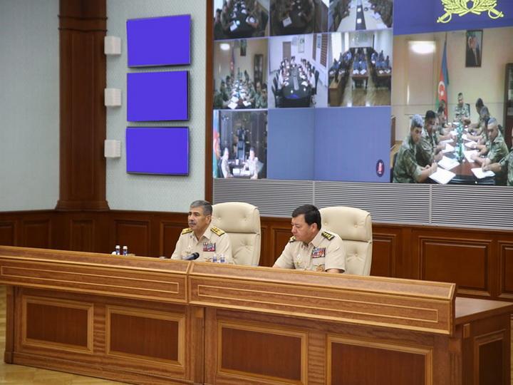Закир Гасанов поставил задачи по обеспечению безопасности личного состава - ФОТО