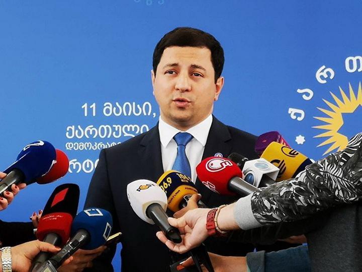 Председателем парламента Грузии стал Арчил Талаквадзе