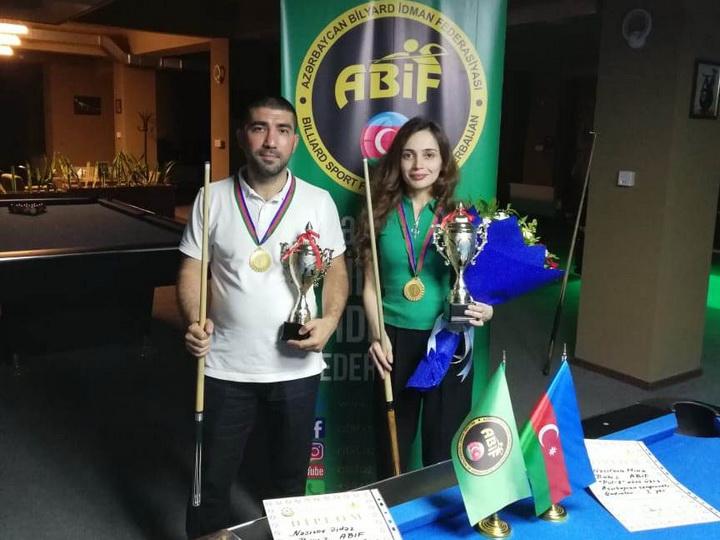 Стали известны победители чемпионата Азербайджана по бильярду