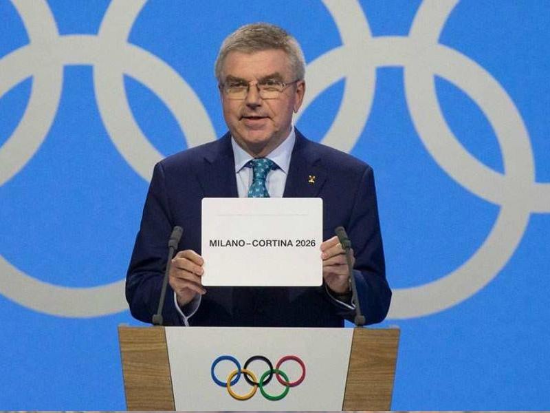Olimpiya Oyunları İtaliyada
