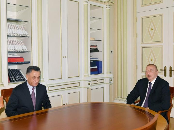 Президент Ильхам Алиев принял Рамиля Усубова – ФОТО