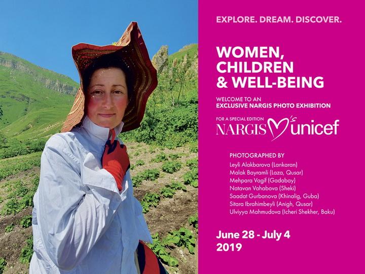 Women, Children & Well-Being: Эксклюзивная фотовыставка Nargis, посвященная женщинам Азербайджана – ФОТО