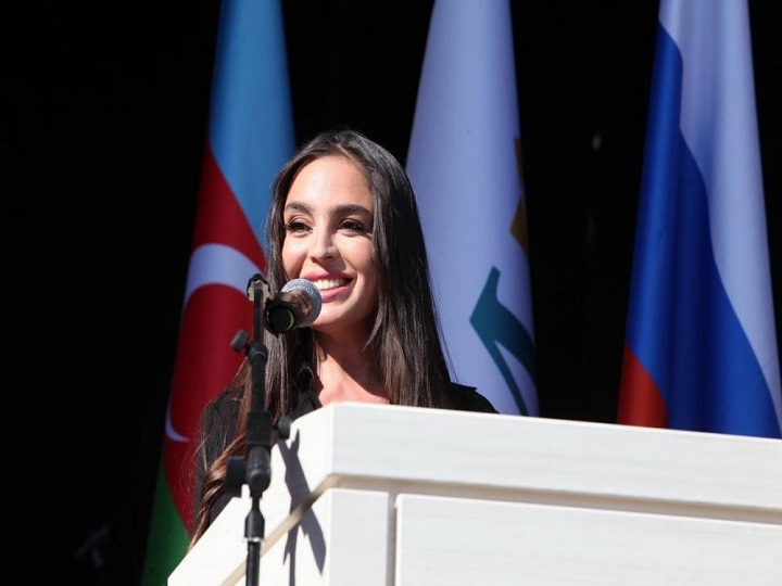 Leyla Əliyeva Moskvada Azərbaycan Mədəniyyəti Günündə iştirak edib – FOTO
