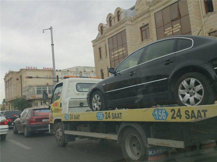 БТА предупреждает: Начинается эвакуация автомобилей нарушителей в Баку
