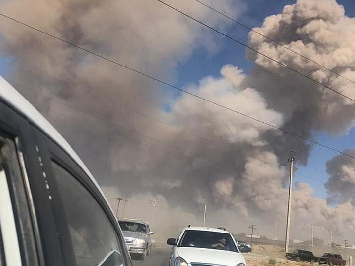 Угроза взрыва боеприпасов в Арыси сохраняется - МВД