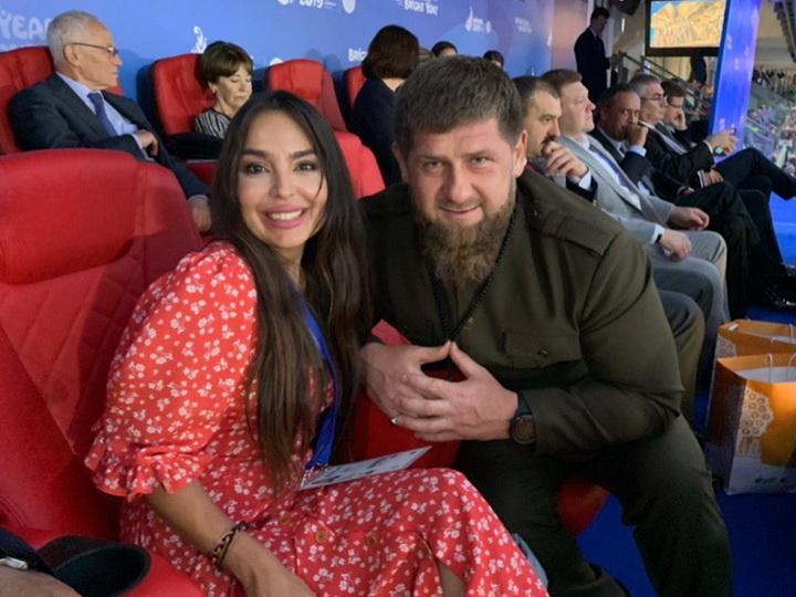 Leyla Əliyeva Çeçenistanın başçısı Ramzan Kadırovla görüşündən danışıb