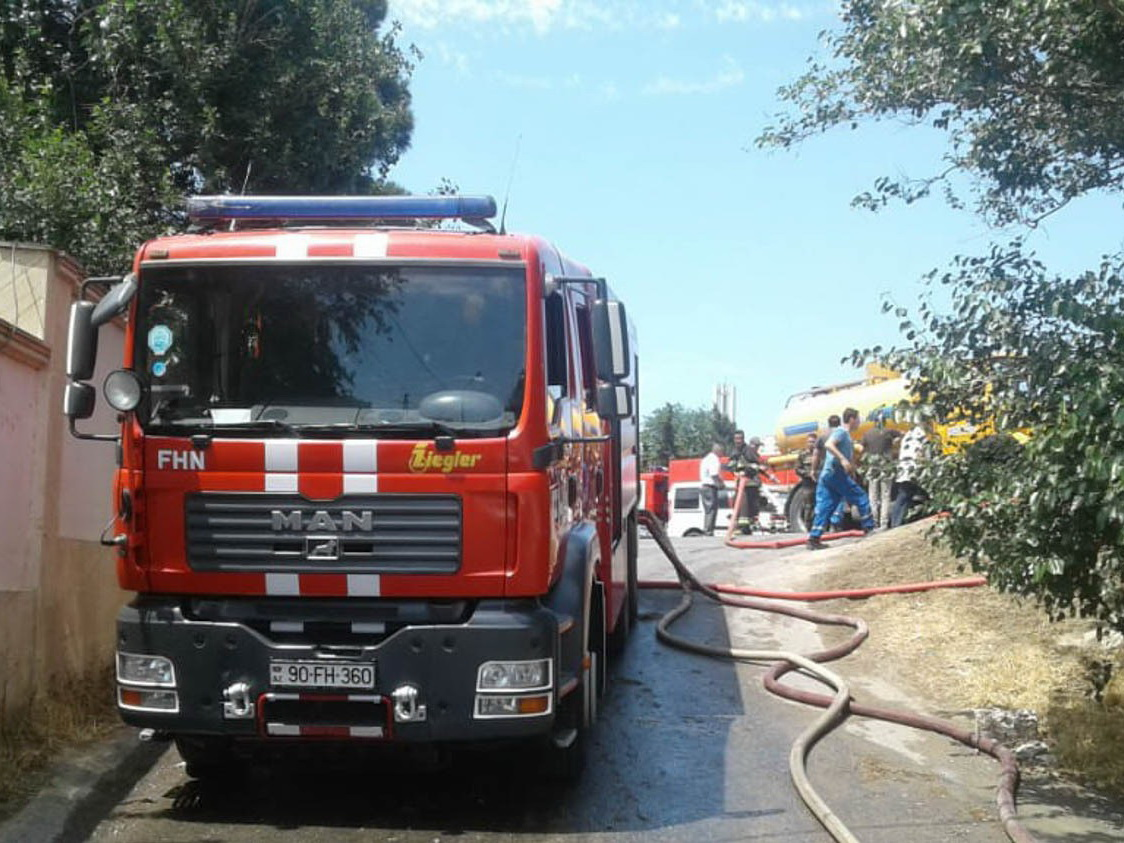 Пожар на Зыхском шоссе потушен - ФОТО - ОБНОВЛЕНО