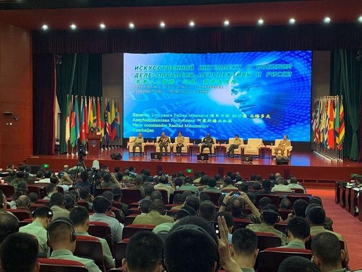 Azərbaycan Ordusunun zabiti beynəlxalq forumda sertifikata layiq görülüb – FOTO