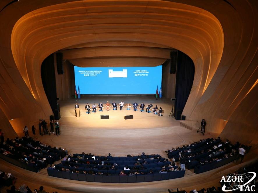 На Бакинском форуме ООН состоялся круглый стол министров - ФОТО