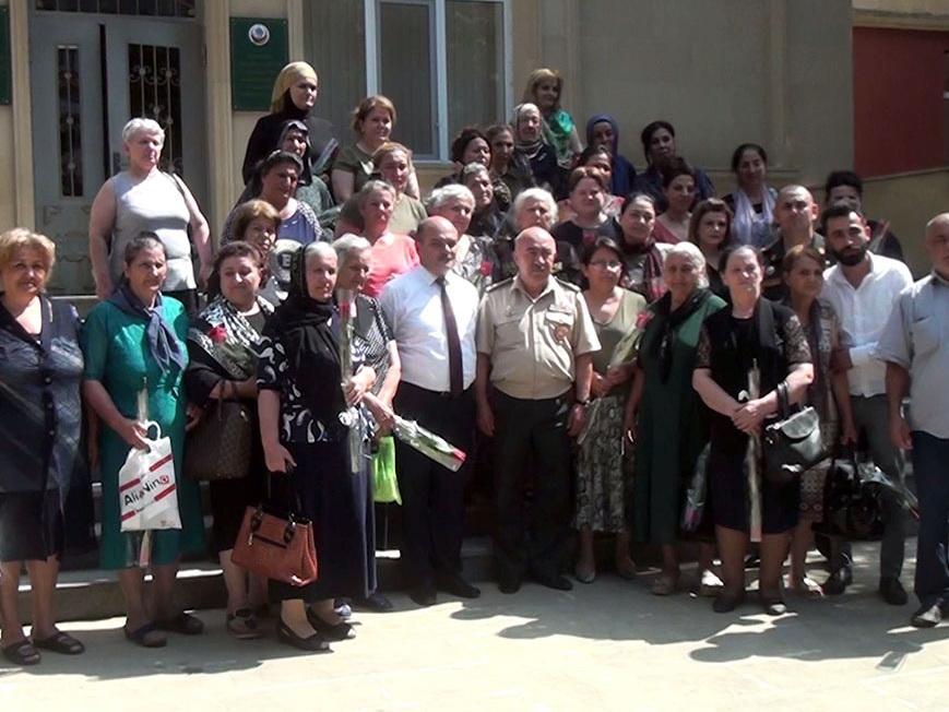 Министерство обороны Азербайджана провело встречу с семьями шехидов - ФОТО - ВИДЕО