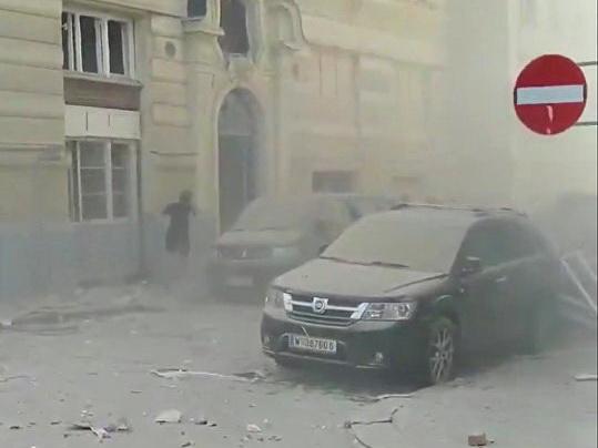 Взрыв произошел в Вене