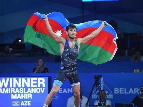 Азербайджан завоевал первую золотую медаль на II-х Европейских Играх – ФОТО