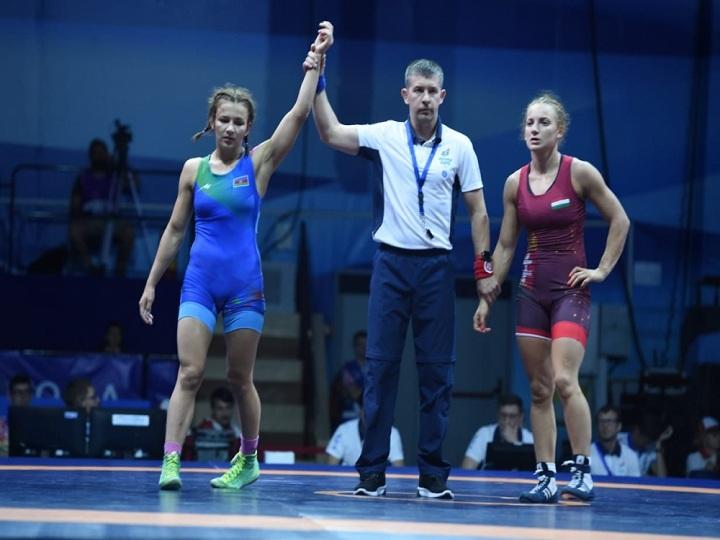 """""""Minsk 2019"""": Mariya Stadnik yarımfinala yüksəlib"""
