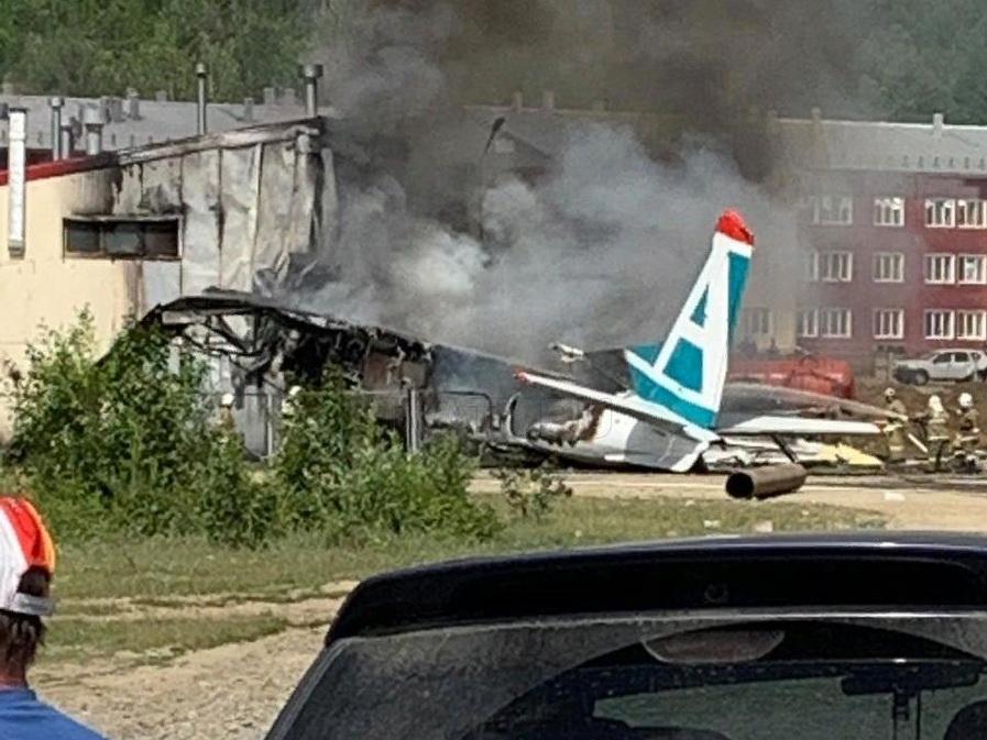 Пассажир разбившегося в Бурятии Ан-24 снял на видео момент крушения – ФОТО - ВИДЕО - ОБНОВЛЕНО