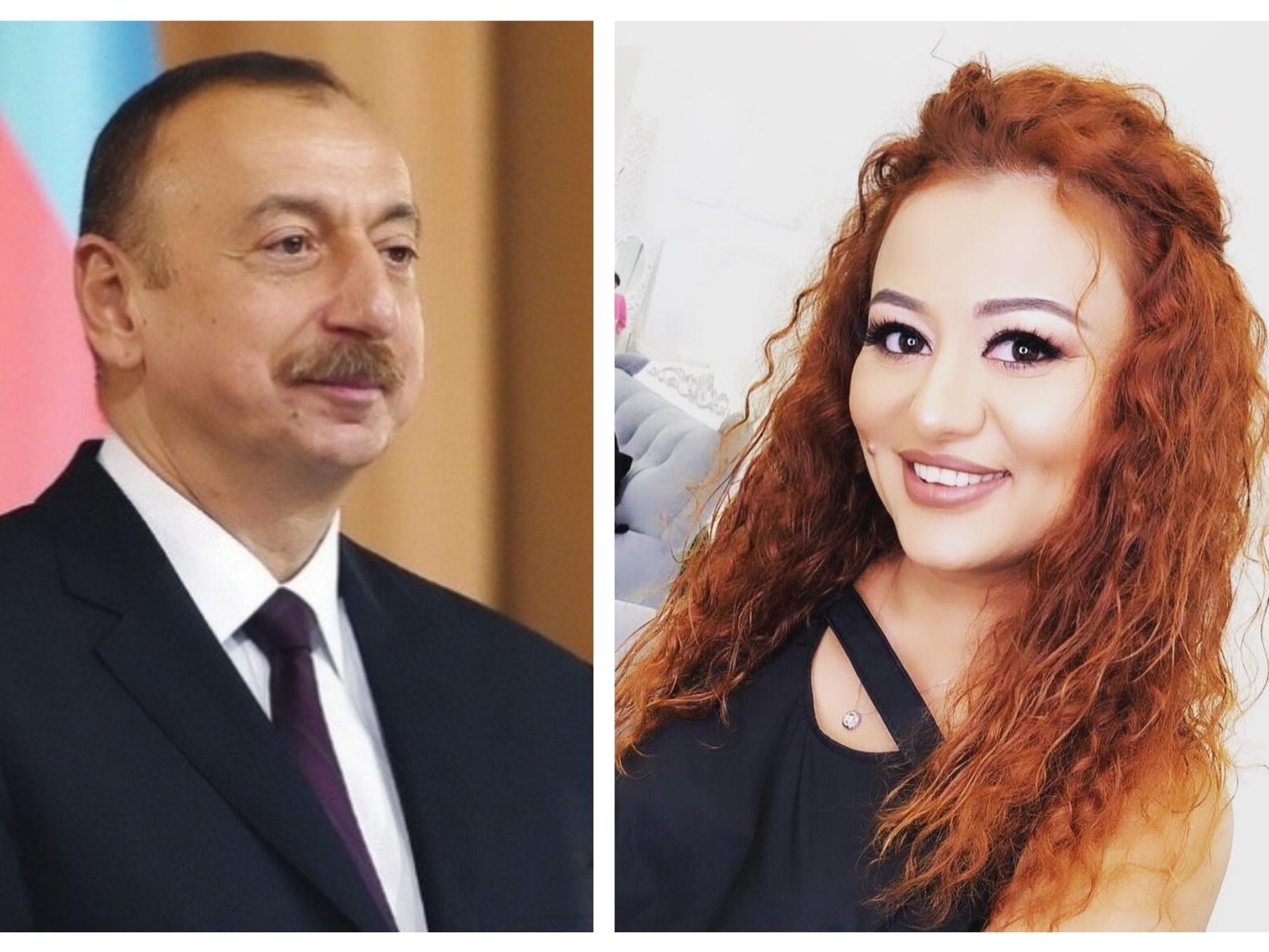 Президент Азербайджана Ильхам Алиев подарил квартиру актрисе Вафе Зейналовой