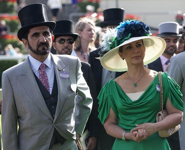 Жена шейха Дубая сбежала с 40 миллионами долларов