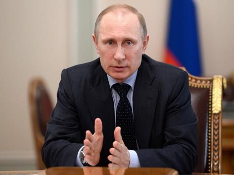 Putin Gürcüstana qarşı sanksiya tətbiqinə qarşı çıxıb