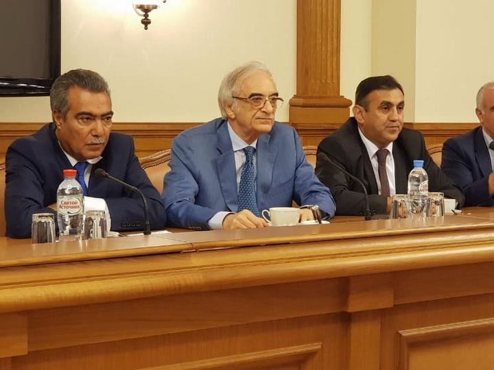 Шакир Агаев: Сотpудничество российских и азербайджанских СМИ - в интересах народов двух стран - ФОТО