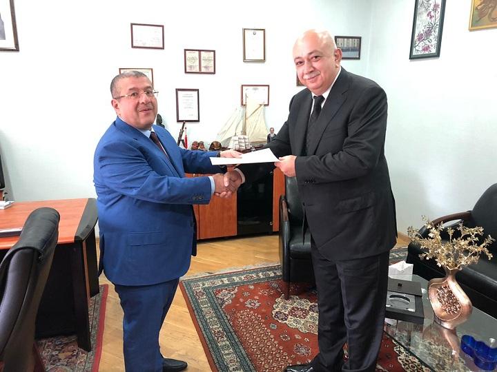 Gürcüstanın yeni baş konsulu XİN-də qəbul edilib