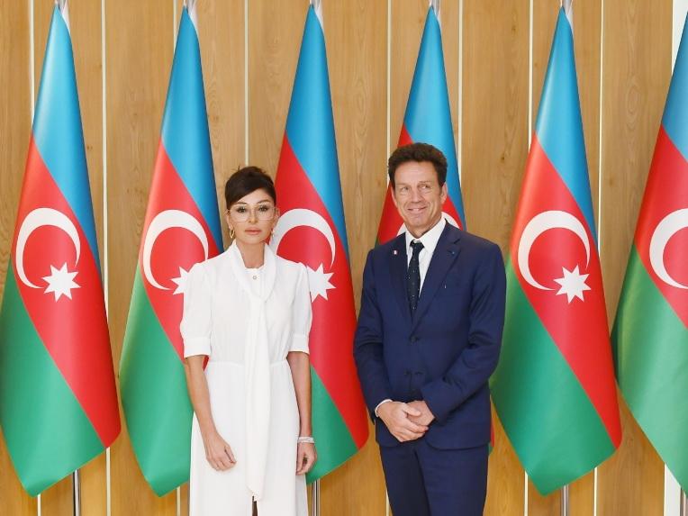 Мехрибан Алиева встретилась с президентом Бизнес-Совета MEDEF - ФОТО