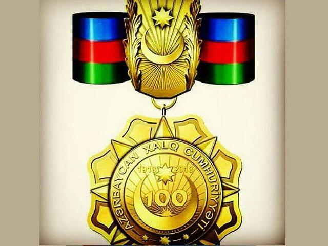 Группе представителей СМИ, НПО и общественных деятелей вручены медали «100-летие АДР»