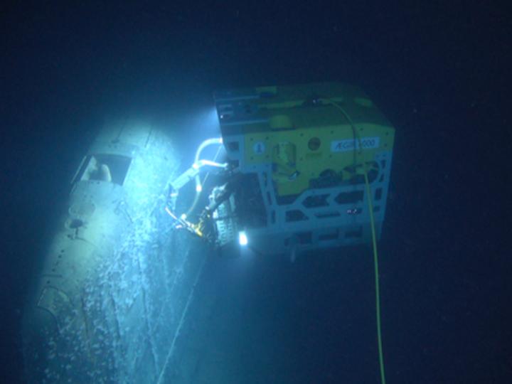 Радиация затонувшей АПЛ К-278 «Комсомолец» в 800 тысяч раз превысила норму