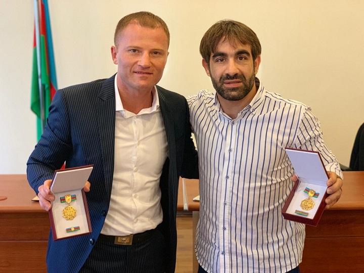 Rafael Ağayev və Eduard Məmmədov da medalla təltif olunublar – FOTO