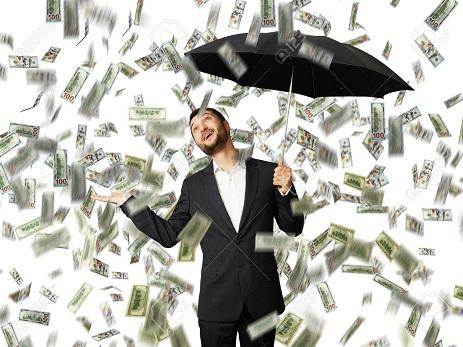 ABŞ-da dollar yağışı – VİDEO