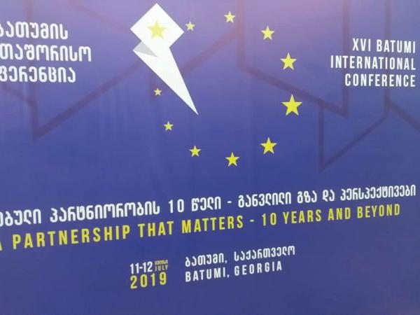 Батуми принимает международную конференцию к 10-летию «Восточного партнерства» – ФОТО